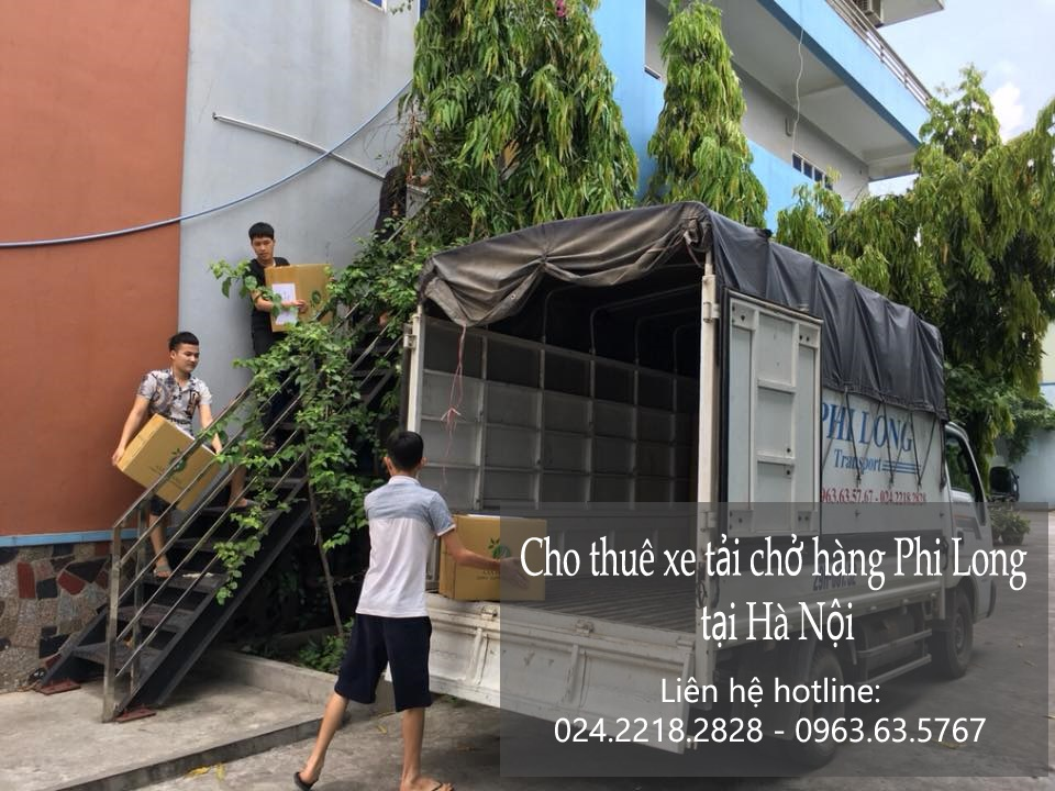 Cho thuê xe tải chở hàng tại phố Nguyễn Đình Chiểu