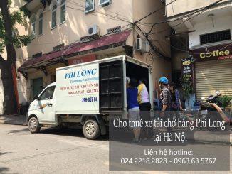 Dịch vụ xe tải chuyển nhà giá rẻ tại đường Đản Dị