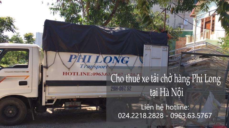 Xe tải chuyển nhà giá rẻ tại phố Nguyễn Công Trứ