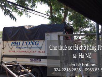 Taxi tải chuyển nhà giá rẻ tại phố Đại La