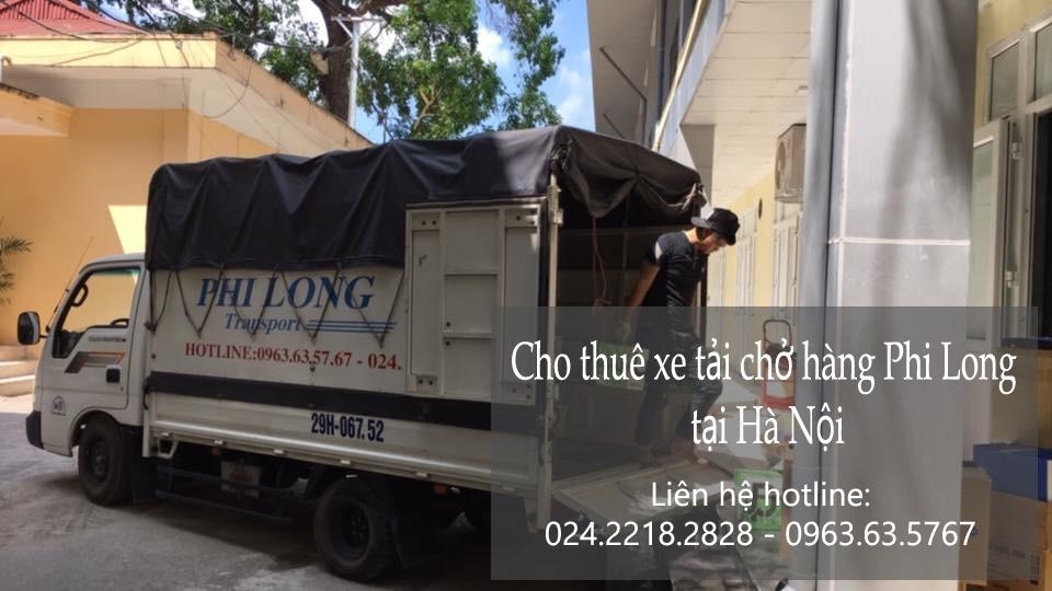 Cho thuê xe tải chở hàng tại phố Phan Huy Ích