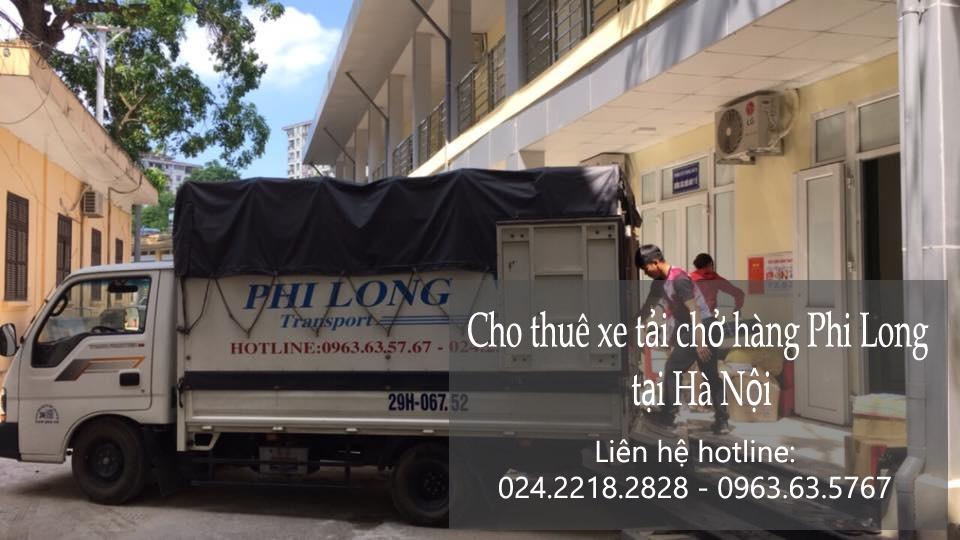 Xe tải chuyển nhà giá rẻ tại phố Yên Ninh