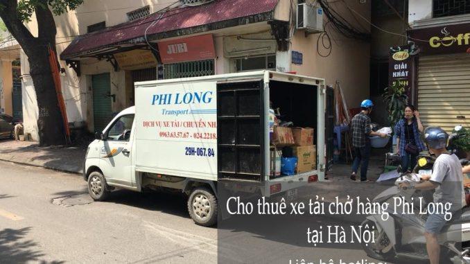 Xe tải chuyển nhà giá rẻ tại phố Trần Cao Vân