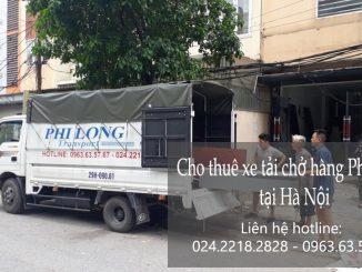 Xe tải chuyển nhà giá rẻ tại Cửa Bắc