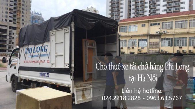 Xe tải chuyển nhà giá rẻ tại phố Nguyễn Duy Dương