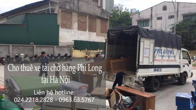 Xe tải chuyển nhà giá rẻ tại phố Phan Chu Trinh