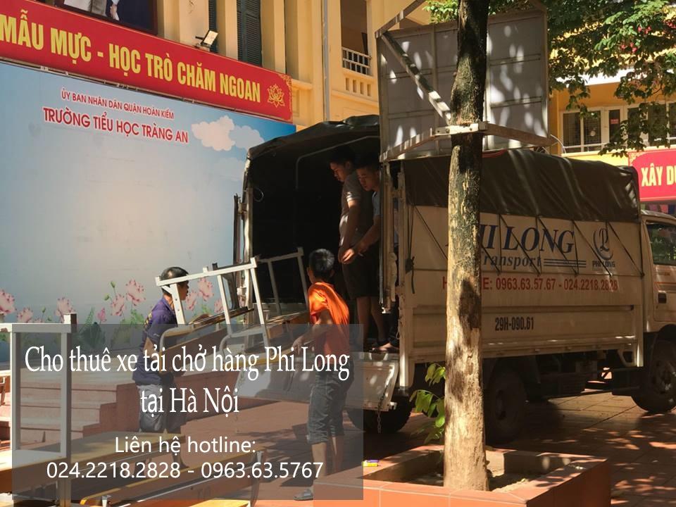 Xe tải chuyển nhà giá rẻ tại phố Hàng Hòm