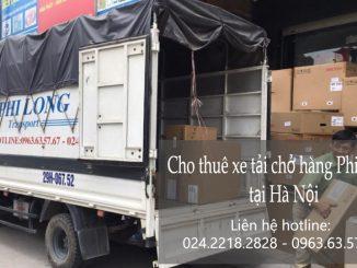 Xe tải chuyển nhà tại phố Hàng Trống