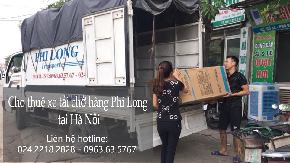 Xe tải chuyển nhà giá rẻ tại phố Hàng Vôi