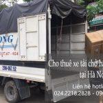 Xe tải chuyển nhà giá rẻ tại phố Trường Lâm