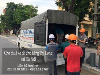 Xe tải chuyển nhà tại phố Đồng Xuân