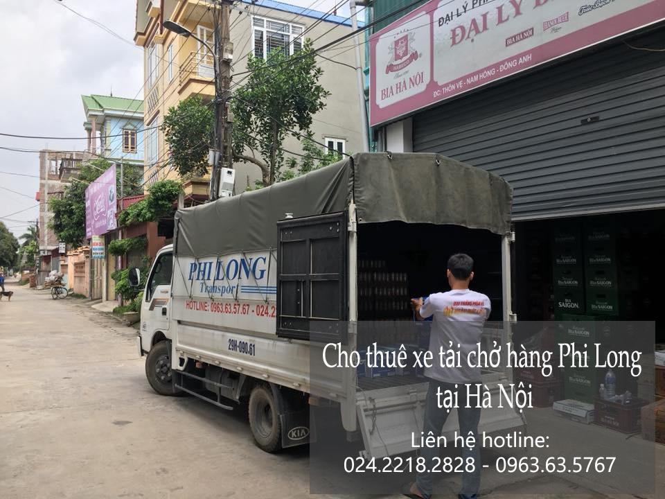 Dịch vụ xe tải chuyển nhà giá rẻ tại phố Mai Động