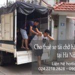 Dịch vụ xe tải chuyển nhà giá rẻ tại phố Khuyến Lương