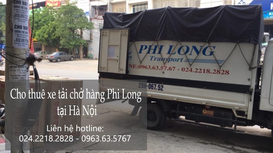 Xe tải chuyển nhà giá rẻ tại phố Phúc Xá