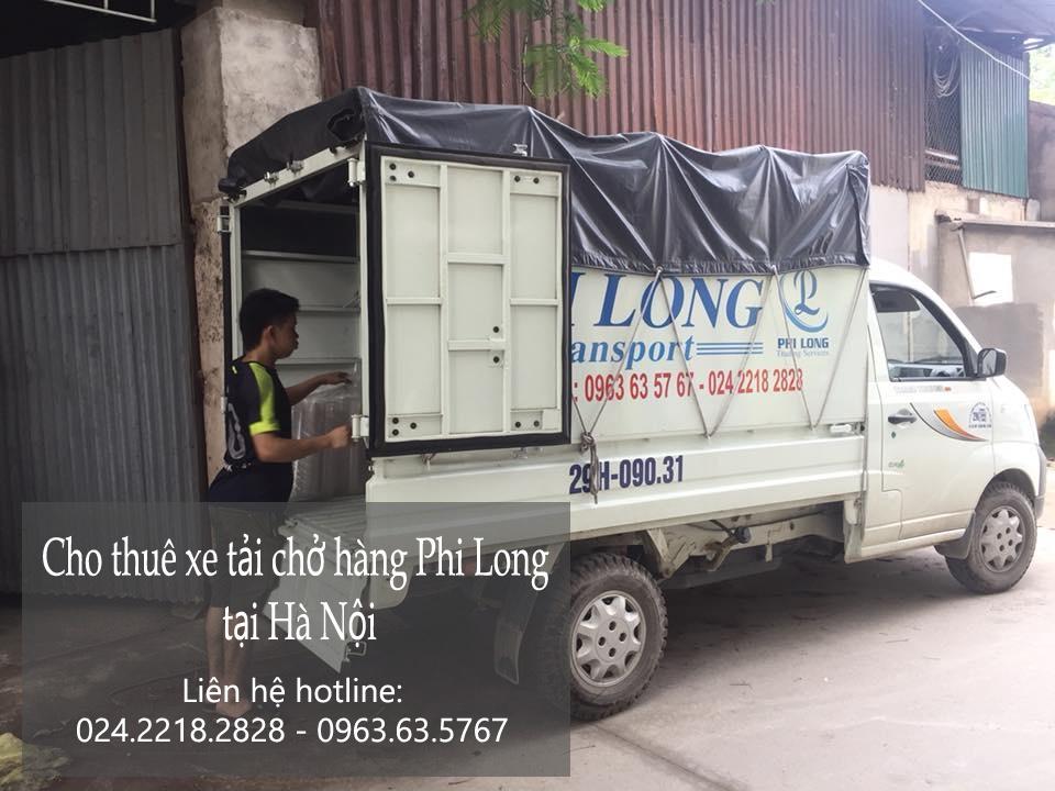 Xe tải chuyển nhà giá rẻ tại phố Nguyễn Chí Thanh