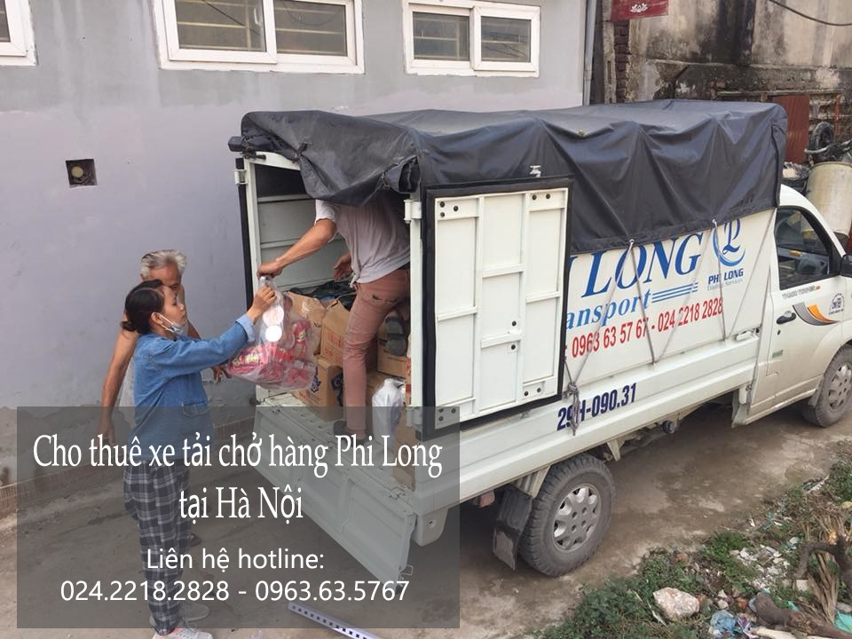 Dịch vụ xe tải chuyển nhà giá rẻ tại phố Vũ Tông Phan