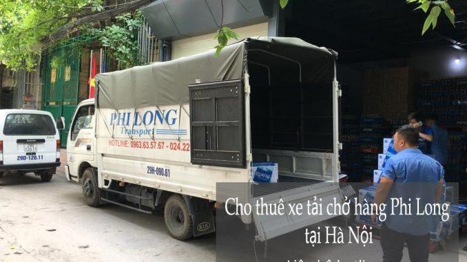 Dịch vụ xe tải chuyển nhà giá rẻ tại phố Láng Hạ