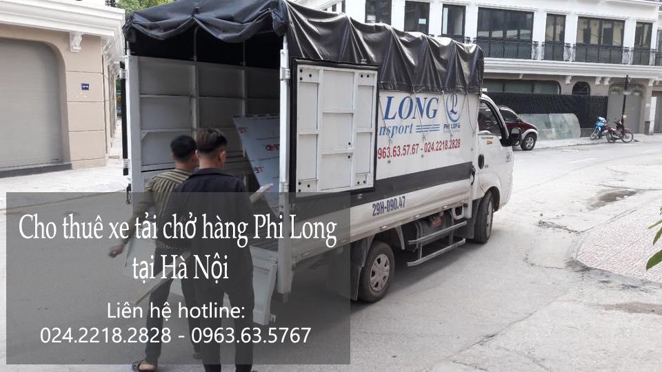Dịch vụ cho thuê xe tải chuyển nhà giá rẻ tại phố Ao Sen