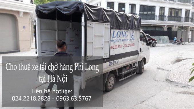 Dịch vụ xe chuyển nhà giá rẻ tại phố Bưởi