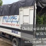 Xe tải chuyển nhà giá rẻ tại phố Thiền Quang