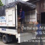 Dịch vụ xe tải chuyển nhà giá rẻ tại phố Chùa Bộc