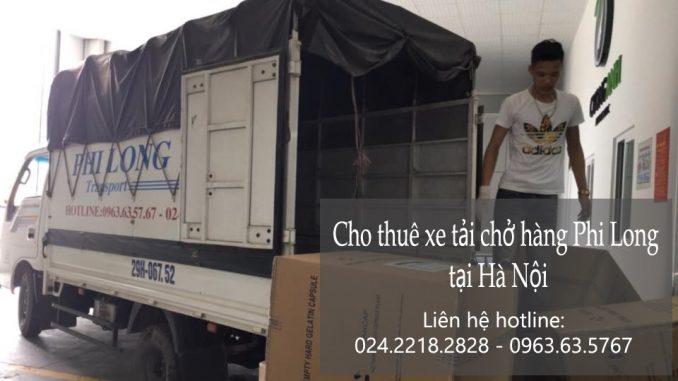 Xe tải chuyển nhà giá rẻ tại phố Bạch Thái Bưởi