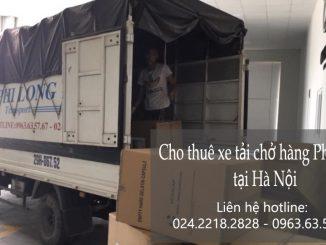 Xe tải chuyển nhà giá rẻ tại phố Phan Văn Đáng