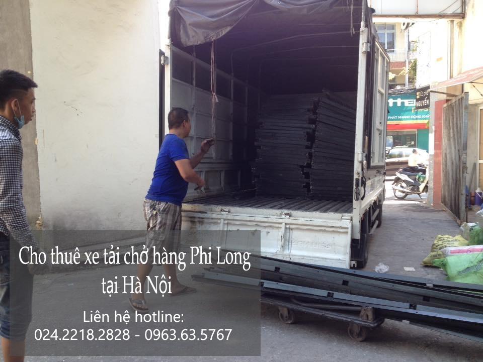 Xe tải chuyển nhà giá rẻ tại phố Phú Lãm