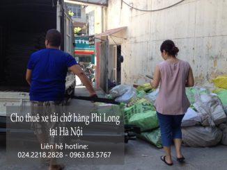 Xe tải chuyển nhà giá rẻ tại phố Hàng Bè
