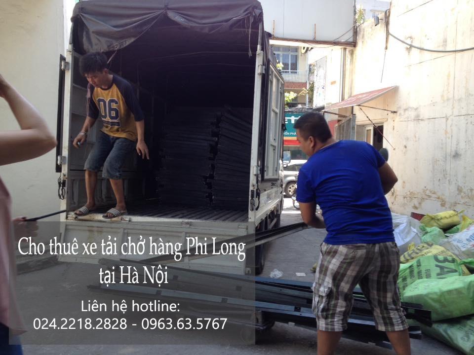 Xe tải chuyển nhà giá rẻ tại phố Trấn Vũ