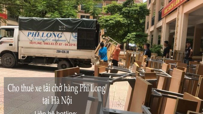 Xe tải chuyển nhà giá rẻ tại phố Tân Ấp