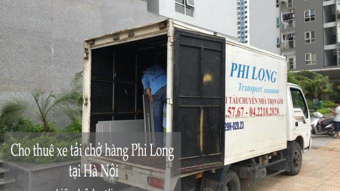 Xe tải chuyển nhà giá rẻ tại phố Lương Văn Can