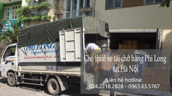 Dịch vụ xe tải chuyển nhà giá rẻ tại phố Vũ Hữu 2019