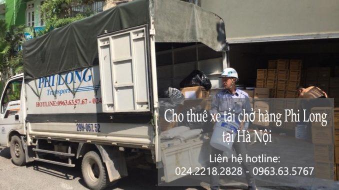 Xe tải chuyển nhà giá rẻ tại phố Đại Từ