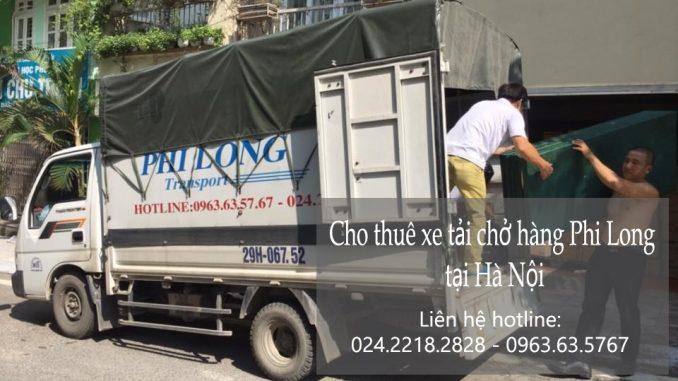 Xe tải chuyển nhà giá rẻ tại Hoàng Quốc Việt