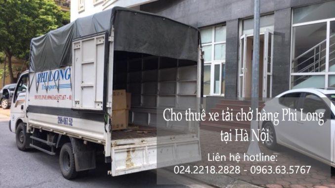 Xe tải chuyển nhà giá rẻ tại phố Phạm Ngũ Lão