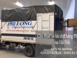 Xe tải chuyển nhà giá rẻ tại phố Thành Thái