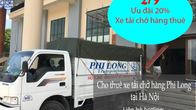 Ưu đãi khi thuê xe tải chuyển nhà giá rẻ nhân ngày 2-9