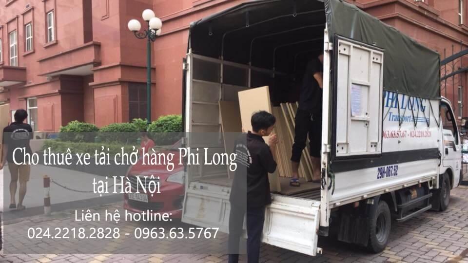 Xe tải chuyển nhà giá rẻ tại phố Châu Long