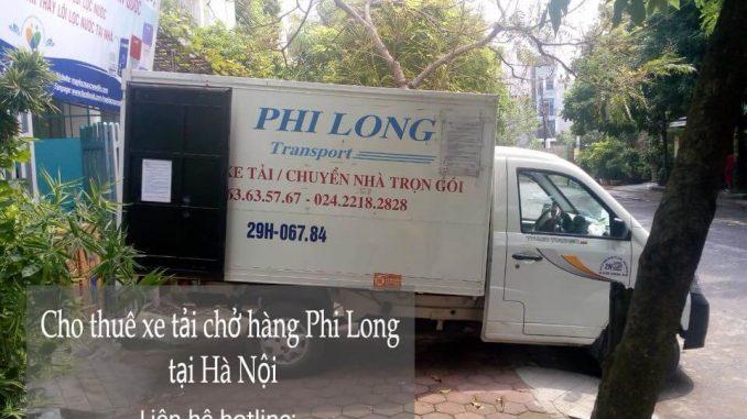 Dịch vụ cho thuê xe tải chuyển nhà giá rẻ tại phố Hàng Bún