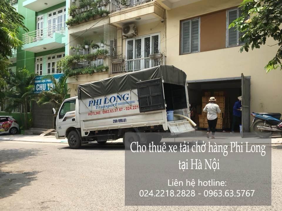 Dịch vụ cho thuê xe tải chuyển nhà giá rẻ tài phố Cầu Bây