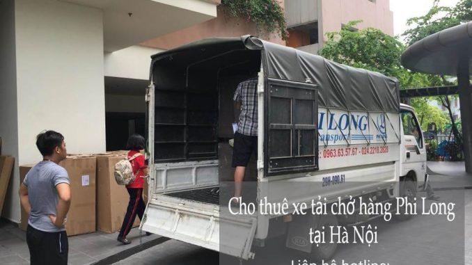 Xe tải chuyển nhà giá rẻ tại phố Hàng Thùng