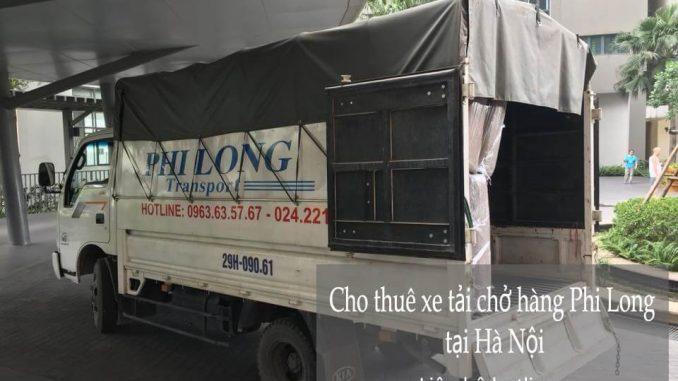 Xe tải chuyển nhà giá rẻ tại phố Cầu Giấy