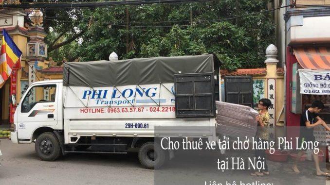 Xe tải chuyển nhà giá rẻ tại phố Văn Quán