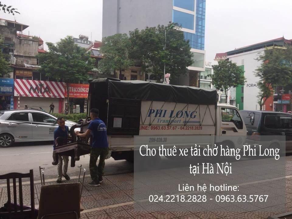 Dịch vụ xe tải chuyển nhà tại phố Chân Cầm