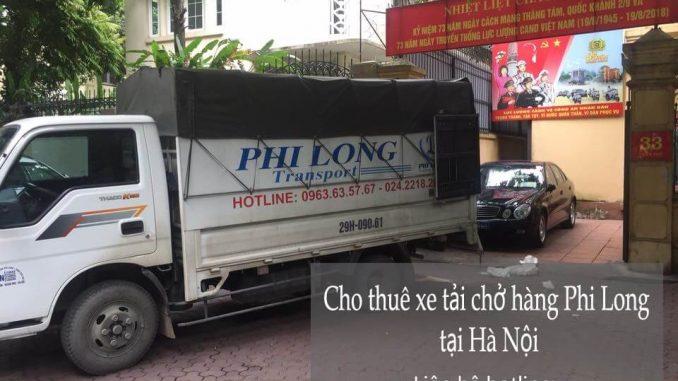 Dịch vụ xe tải chuyển nhà giá rẻ tại phố Đông Thái