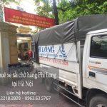Dịch vụ xe tải chuyển nhà giá rẻ tại phố Hoa Bằng