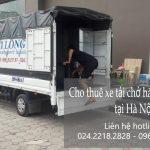 Xe tải chuyển nhà giá rẻ tại phố Đoàn Nhữ Hài