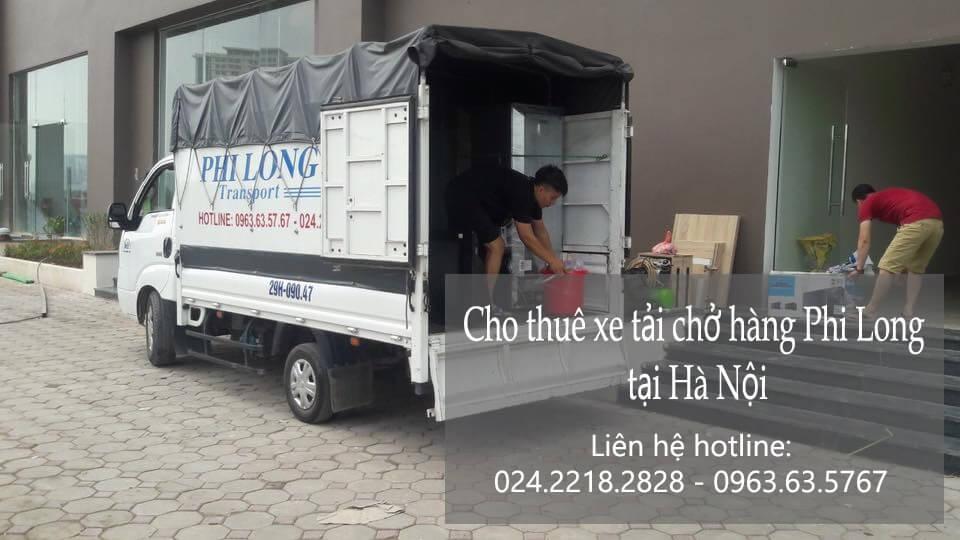 Dịch vụ xe tải chuyển nhà giá rẻ tại phố Cầu Bích