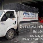 Dịch vụ xe chuyển nhà giá rẻ tại phố Chu Huy Mân